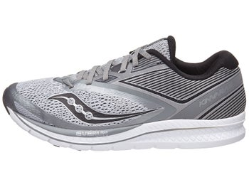0b8b3103f87 Saucony Kinvara 9 Men s Shoes Light Grey Black