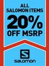 Salomon 20% Off Sale