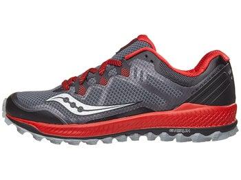5e88636b1a Saucony Peregrine 8 Men's Shoes Black/Red