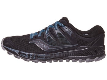 a42f7bff72dd Saucony Peregrine ISO Men s Shoes Black Grey