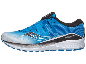 8c17d2f14233 Saucony Ride ISO Men s Shoes White Black Blue