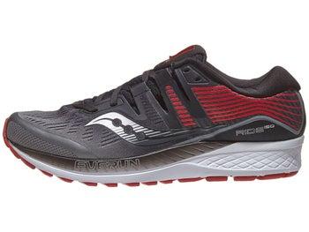 8658235d47e2 Saucony Ride ISO Men s Shoes Grey Black