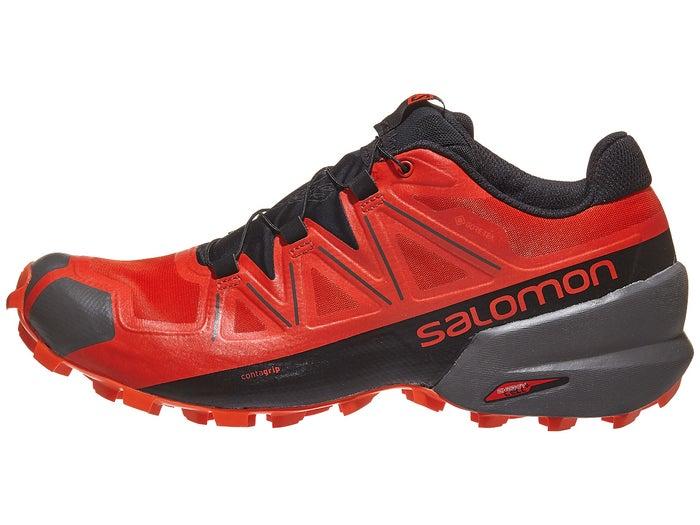 rencontrer 3ed4e 65597 Salomon Speedcross 5 GTX Men's Shoes Poppy/Black