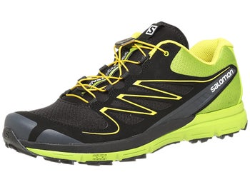 Salomon Sense Mantra Mens Shoes Black/Green/Yellow
