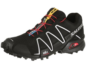 Salomon Speedcross 3 Mens Shoes Black/Red