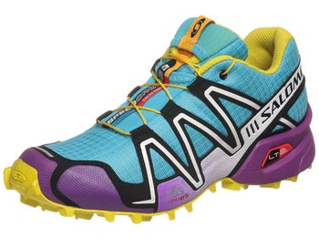 Salomon Speedcross 3 Womens Shoes Blu/Purp/Yell