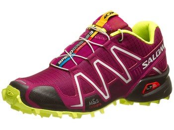 Salomon Speedcross 3 Womens Shoes Purple/Black/Yel