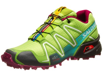 Salomon Speedcross 3 Womens Shoes Firefly/Grn/Pur