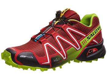 Salomon Speedcross 3 CS Mens Shoes Flea/Red/Green