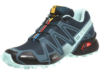Salomon Speedcross 3 CS Womens Shoes Grey/Blue