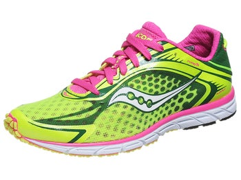 Saucony Type A5 Womens Shoes Citron/Pink
