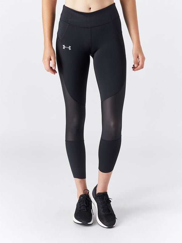 best prices lace up in for whole family Under Armour Women's Qualifier Speedpocket Run Crop