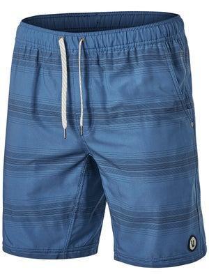 e4cf8e2e1d Vuori Men's Kore Short Sea Charcoal Stripe