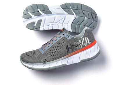 12f154204f0d A medium stack height running shoe